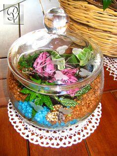 Giardino in bottiglia terrario giardini in miniatura pinterest - Giardino in miniatura ...