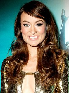 Olivia Wilde. I love the highlighting in the center of her face here. Makes everything else POP.