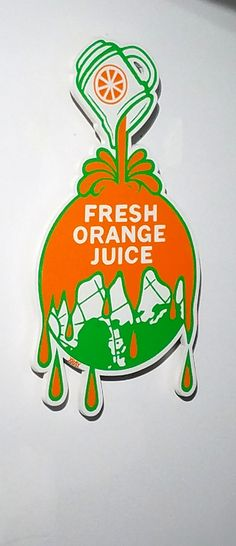 """Montreal, Quebec. """"Fresh Orange Juice"""" Original Art by the artist XRAY at Station 16 Gallery in Mont Royal (St. Laurent).  Station 16 is an eye-popping gallery and art enthusiasts will LOVE.  Montreal has created an amazing pop art culture over the years. Original Photography by R. Stowe."""