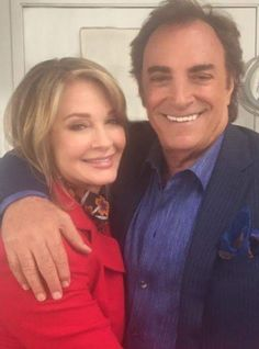 Deidre Hall and Thaao Penghlis  #Daysofourlives #DOOL