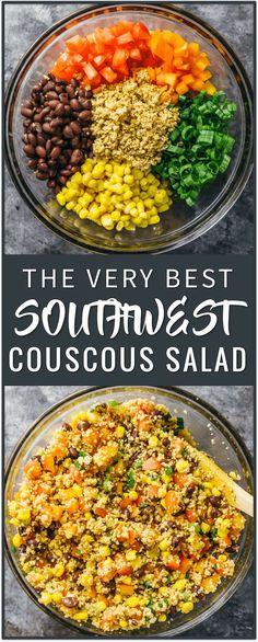 The Very Best Southwest Couscous Salad