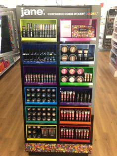 New Jane end cap at Ulta Beauty, designed and manufactured by Array