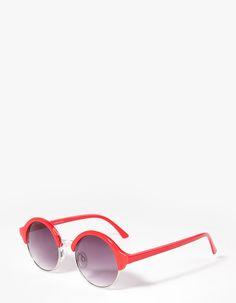 Óculos redondos estilo retro