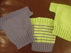 Fish and Chip Babies Knitting Pattern