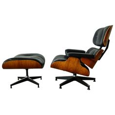 Charles Eames 670 Lounger and 671 Ottoman for Herman Miller | 1stdibs.com_AH 2014 0513