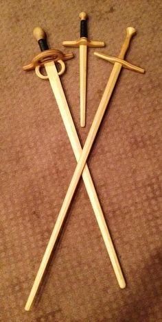 rapier wooden sword - Google Search