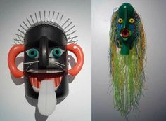 Masks from recycled plastic bottles,