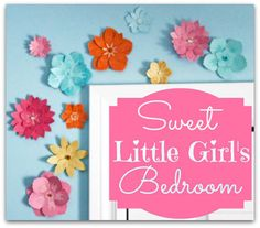 Sweet Little Girls Bedroom Reveal- From the Fynes House | FYNES DESIGNS