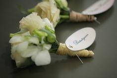 Beach Wedding in Kiotari Rhodes » GoldenApple, Weddings in Rhodes Greece #flowers #boutonniere