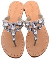 Jeweled Sandals | Rhinestone Sandals, Embellished Sandals, Beaded Sandals & More
