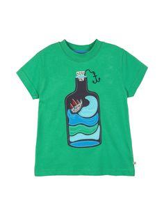 Frugi Boys T-Shirt http://www.raspberryred.co.uk/clothes-by-brand/frugi/frugi-green-bottle-t-shirt