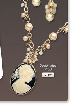 Design Idea 913D Necklace and Earrings