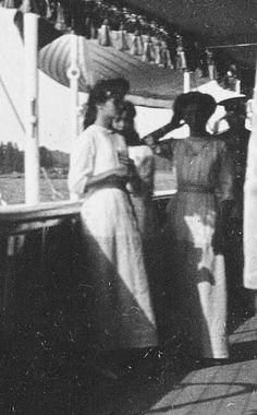 "Grand Duchesses Tatiana,Maria and Olga Nikolaevna Romanova of Russia. ""AL"""