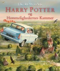 Harry Potter og hemmelighedernes kammer illustreret af Jim Kay