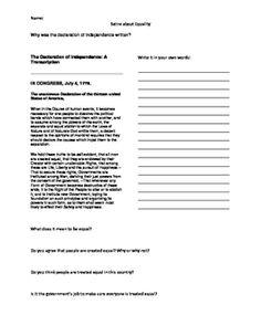 Study Guide: Harrison Bergeron Worksheet | Lesson Planet | Higher ...