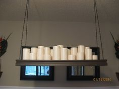 Pillar Candle Chandeliers Make It Yourself 32 00 Bed Bath And Beyond
