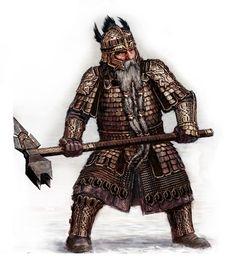 Tornstenn's legendary Grandfather, Tornulf Stonebeard