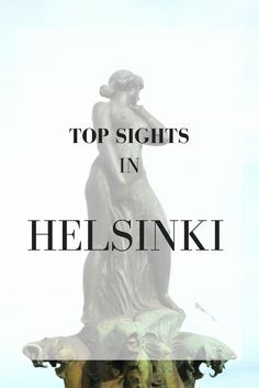 Top Sights in Helsinki, Finland - lilyfoundit.com #Helsinki #Nordics #Finland #Sightseeing Helsinki, Ecommerce Hosting, Finland, Statue, Top, Travel, Viajes, Destinations, Traveling