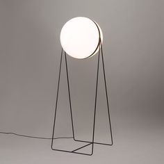 Luna Lamp by Stevan Djurovic The idea was to avoid the classic lamp switch and allow users to easily turn the light on and off by rotating the ball.
