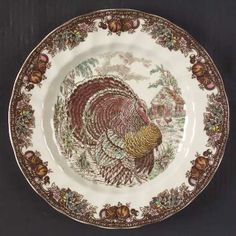AUTUMN MONARCH - Replacements Ltd....this platter is only 140, 50 for a blemished one!