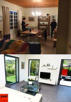 rhabilitation villa des annes 50 vue intrieure