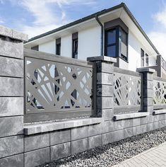 Compound Wall Gate Design, House Fence Design, Modern Fence Design, Door Gate Design, Wooden Door Design, Railing Design, Garden Fence Art, Diy Fence, Fence Gate