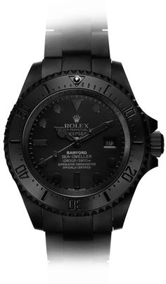 DEEPSEA 'PREDATOR' Bamford Watch Department unleashes two new special edition Deepseas.