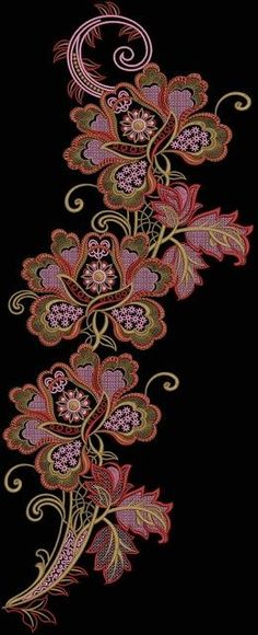 Latest Embroidery Designs, Embroidery Designs, Embroidery Designs Free, New…