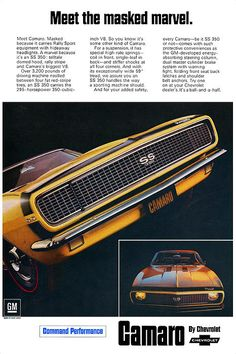 1967 Camaro SS