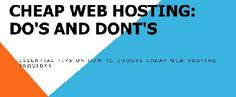 The correct allocation of business resources really matter a lot for small businesses. That's why these small and medium businesses worry a lot about web hosting costs. Website hosting is a long term issue and it is really helpful if you could find a company that provides state of the art web hosting services while charging reasonable monthly fee for that