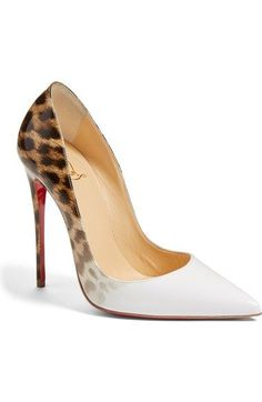 Sigh. Probably never ever.  Christian Louboutin 'So Kate' Pointy Toe Pump available at #Nordstrom