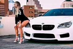 BMW F13 6 series white