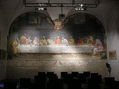 Alessandro Allori - Ultima Cena (1582 circa) - convento adiacente la Basilica di Santa Maria del Carmine a Firenze.