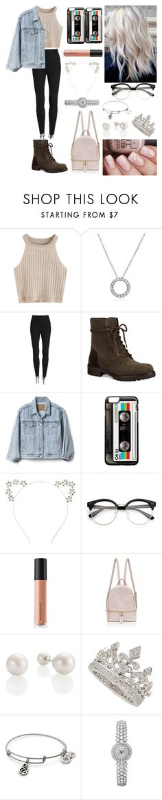 """""""Untitled #427"""" by parismarion ❤ liked on Polyvore featuring Beyond Yoga, UGG, Gap, Bare Escentuals and Garrard"""