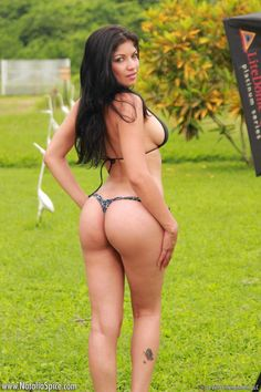 Natalia Spice undressed outdoors