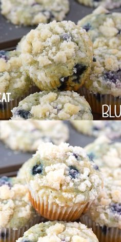 Starbucks Copycat Blueberry Muffins – this EASY blueberry muffin recipe is better than Starbucks and has a delicious streusel on top! EVERYONE loves this Starbucks copycat blueberry muffins recipe! Streusel Topping For Muffins, Blueberry Streusel Muffins, Homemade Blueberry Muffins, Blue Berry Muffins, Starbucks Blueberry Yogurt Muffin Recipe, Blueberry Fritters Recipe, Blackberry Muffins Easy, Blueberry Muffin Bread Recipe, Blueberry Cheesecake Muffins