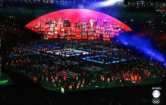 Cerimônia de Abertura das Olimpíadas 2016 no Rio de Janeiro