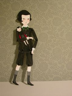 A paper doll's paper doll