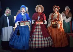 A Christmas Carol Musical Theatre Costumes for Hire