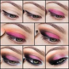 Amazing Step by Step Eye Makeup Tutorials 2014