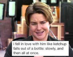 Haha like ketchup!