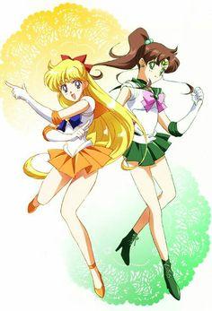 Sailor Venus & Sailor Jupiter
