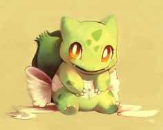 Bulbasaur Painting by =purplekecleon on deviantART