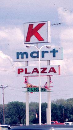 Kmart Sign 1976
