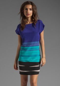 TRINA TURK Breene Dress in Surf