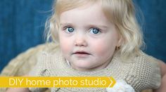 How to take professional quality photos of your kids at home with IKEA props.
