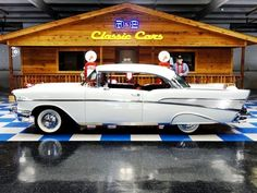 1957 Chevrolet Bel Air Sport Coupe.  Went to my senior prom in one of these....