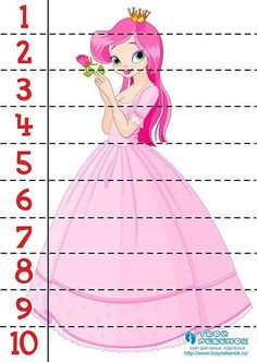 Kindergarten Readiness, Preschool Math, Kindergarten Worksheets, Princess Activities, Kids Learning Activities, H&m Kids, Math For Kids, Toddler Classroom, Curriculum Planning