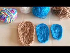 sapatinhos bebe crochet - Buscar con Google