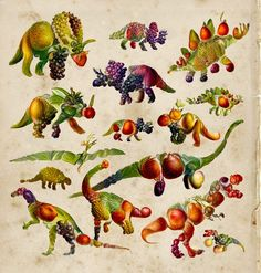 A Neural Network Generates Surprisingly Elegant Images of Dinosaurs Composed of Plants | Colossal